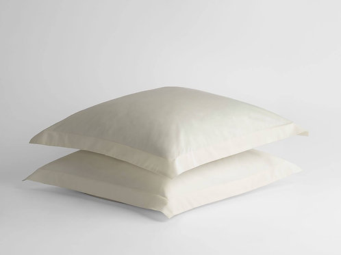 100% Supima Cotton, 500 Thread Count Sateen Solid Euro Sham