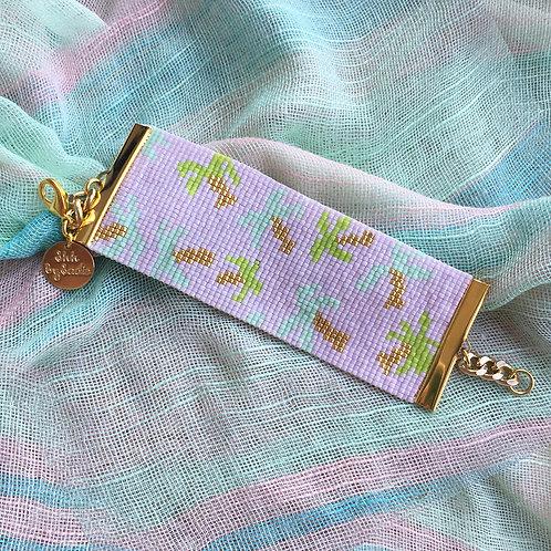 Golden Palms Bracelet