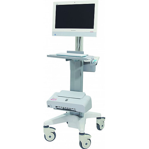 BR-LT07 Luxurious Doctor workstation nursing computer trolley