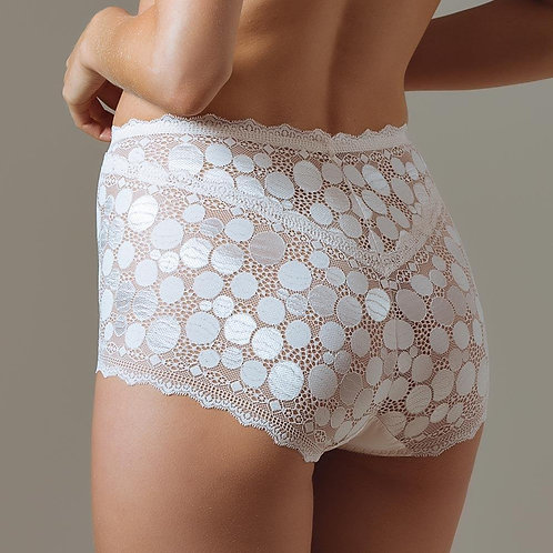 Polka Dot High Waist Brief Panty Lauma Pearly Shadow