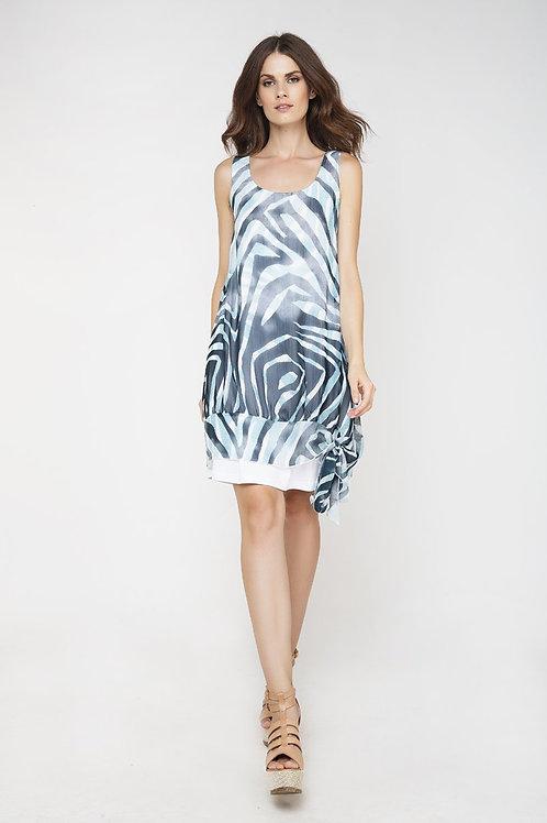 Sleeveless Double Layer Dress