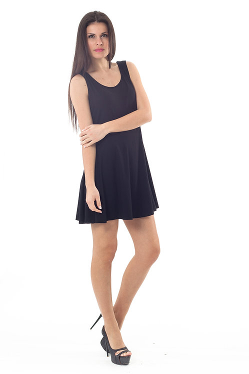 Bow Detail Skater Dress 2Young