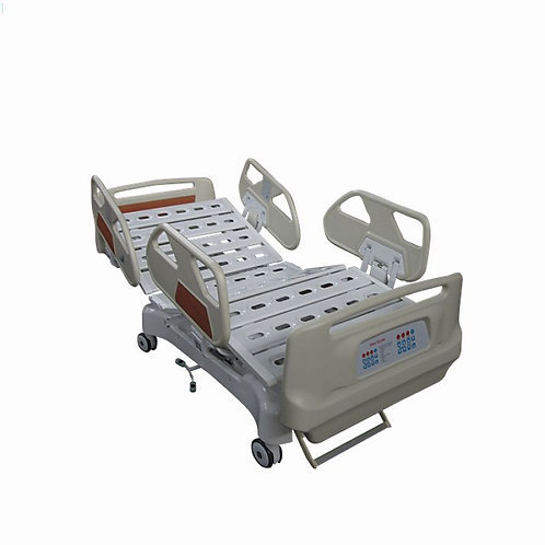 BR-HBE08 5-Function Electric Hospital Bed, with the 5th guide wheel