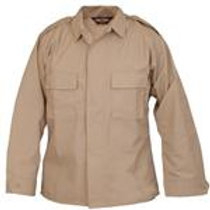 Tactical Shirt with Epaulets Long Sleeve KHAKI - IRREGULAR