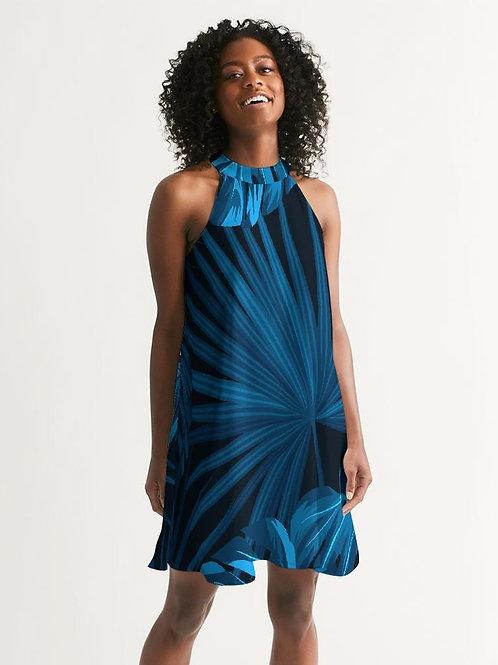 Women's Headed South Casual Halter Dress
