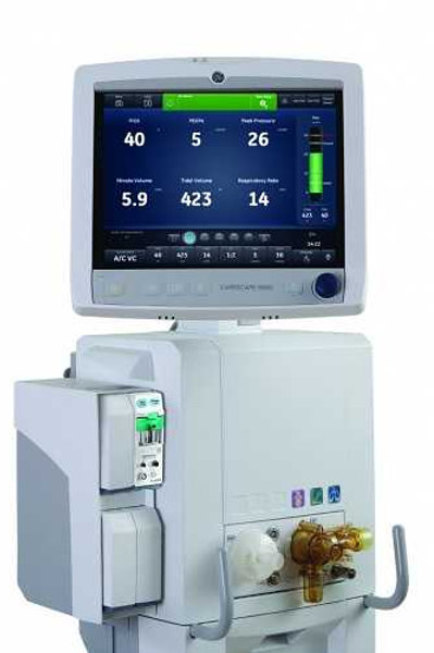 GE Healthcare Carescape R860 ICU Respirator