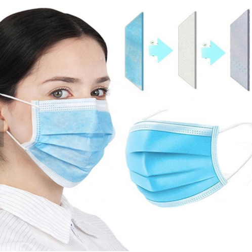 Disposable 3ply Non-woven Face Mask medical mask Face Mask