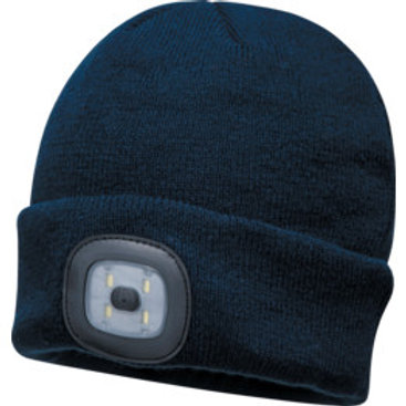 Portwest Beanie Hat with LED Light