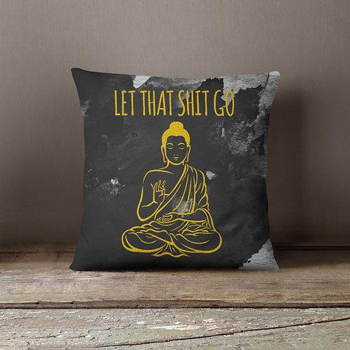Gold Buddha Yoga Meditation Pillow Decorative