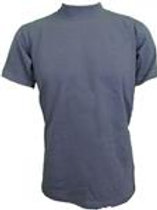 Tru-Spec Mock Neck T-Shirt - CHARCOAL GREY