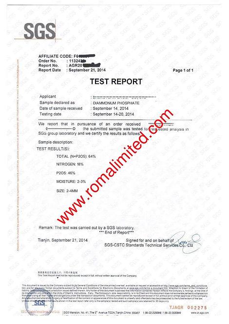 DAP 18:46:0 Test report