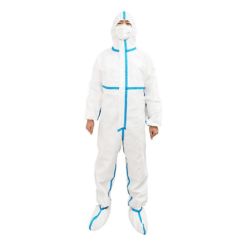 Full Body Coverall Ppe Isolation Gown
