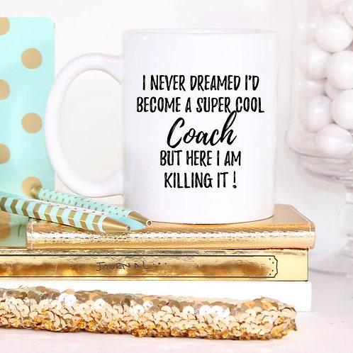 Coach Mug, Coach Gift, Gift For Coach,
