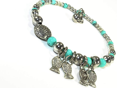 Blowfish & Buddies Charm Bracelet