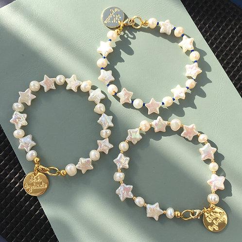 Pearl Stars bracelet
