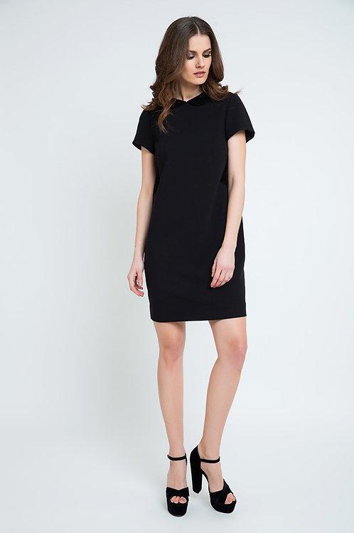 Black Lace Detail Dress