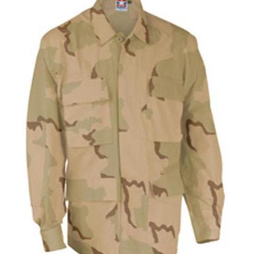 Propper BDU Jacket 50-50 Nylon-Cotton Ripstop - 3 COLOR DESERT