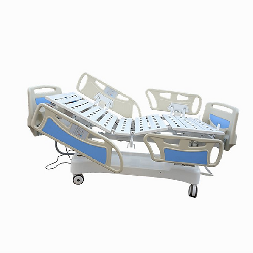 RM04-5-Function Electric Hospital Bed  (build-in operators on side rails )