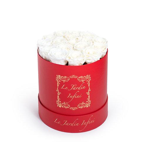 Custom Preserved Roses - Medium Round Box