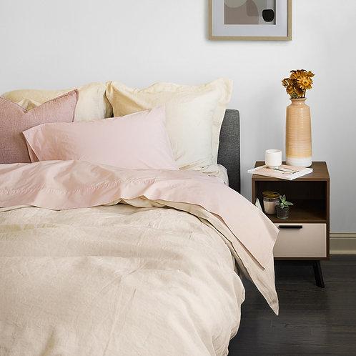 100% Fine European Linen Duvet Cover