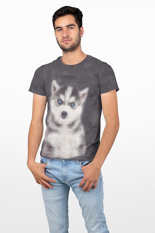 Men's Husky Puppy T-shirt