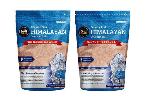 2 Pack - Himalayan Salt Fine Grain 5lb Bag