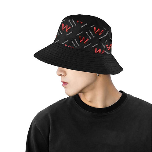 Men's Wakerlook Print Bucket Summer Hat