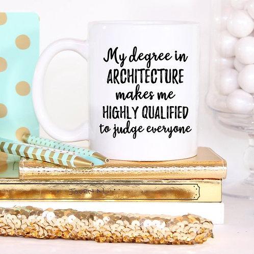Architecture Gift, Architecture Mug, Architect