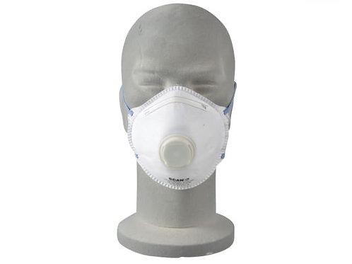 Moulded Valved Disposable Mask