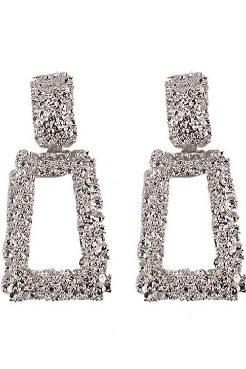 Alloy Geometric Earrings