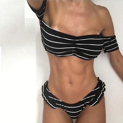 Classical Women Bikini Set Swimwear Push-Up Padded