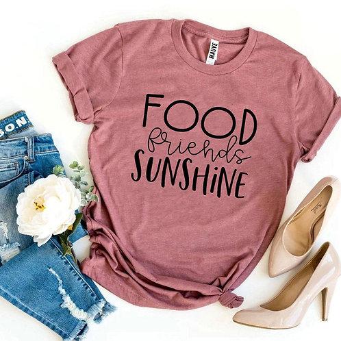 Food Friends Sunshine T-shirt