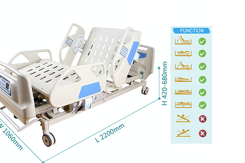 RM20 , 7-function electric bed with weighing system