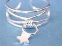 Dangle Star Toe Ring