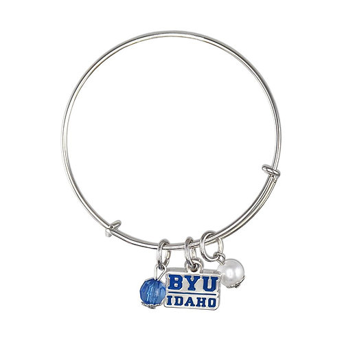 BYU Idaho Bangle Bracelet