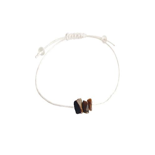 Tiger Eye + Hemp + Choice of Anklet or Bracelet