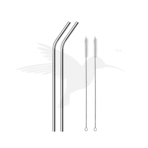 Hydrate Straws Curved Set of 2
