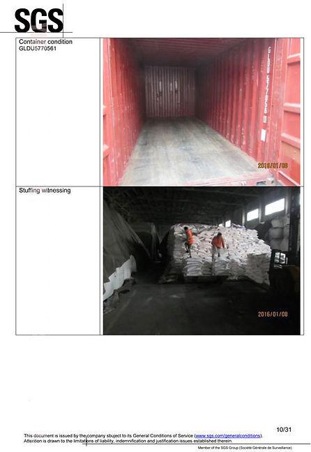Mono Calcium Phosphate SGS report