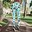 Thumbnail: Blue shamrock leggings, Capris and Shorts