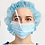 Thumbnail: Disposable 3-ply surgical face mask with anti-fog shield 99.7% BFE