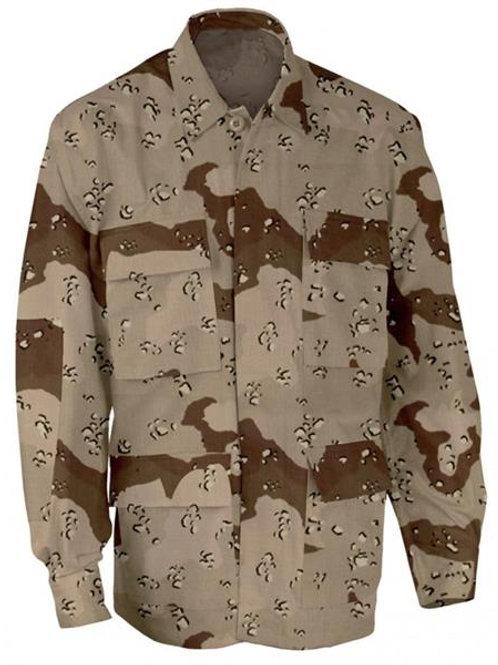 Desert Jacket DCU 100% Cotton Ripstop