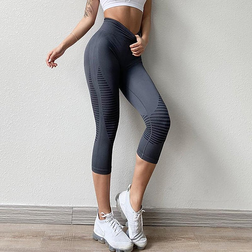Yoga cropped trousers