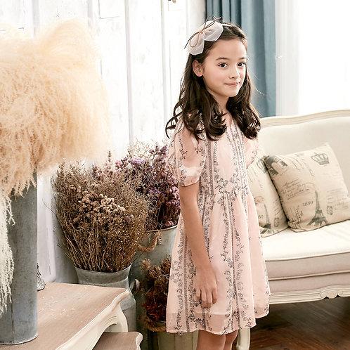 Floral Fit & Flare Dress (toddler/girl)