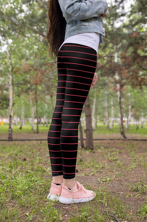 Thin Stripe leggings, Capris and Shorts