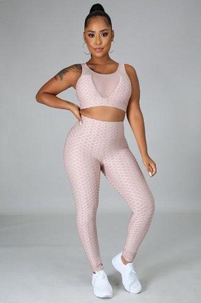 Shanelle Mocha Fitness Set
