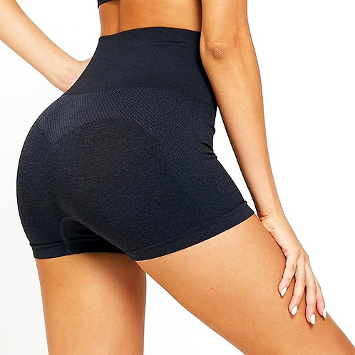 High Waist Seamless Gym Shorts Women Skinny Sport Shorts Fitness Yoga