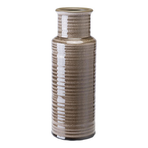 """4.4"""" X 4.4"""" X 12.4"""" Modern And Simple Gray Bottle"""