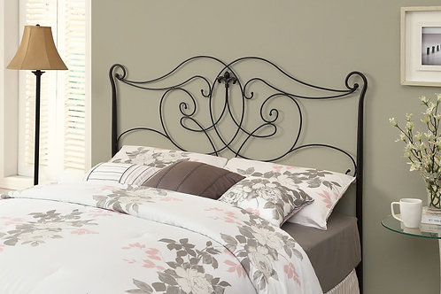 "50"" Satin Metal Queen or Full Size Bed"