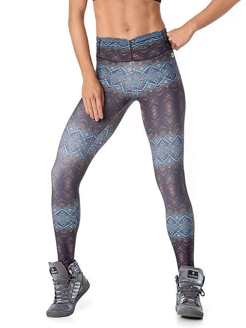 Vestem Fuso 11 Frufru Gray Printed Leggings