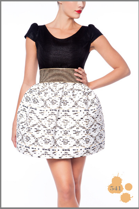 Black & White Short Dress Madness